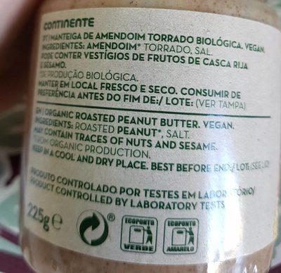 Manteiga de Amendoim - Ingrediënten - fr