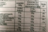 Copos de avena integral - Voedingswaarden - es