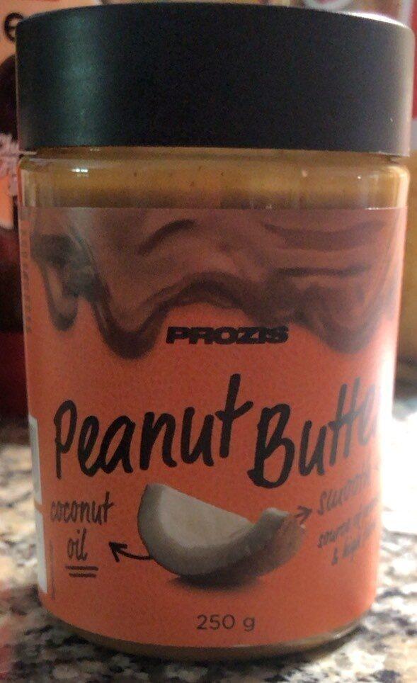 Peanut butter coconut oil - Producte - es
