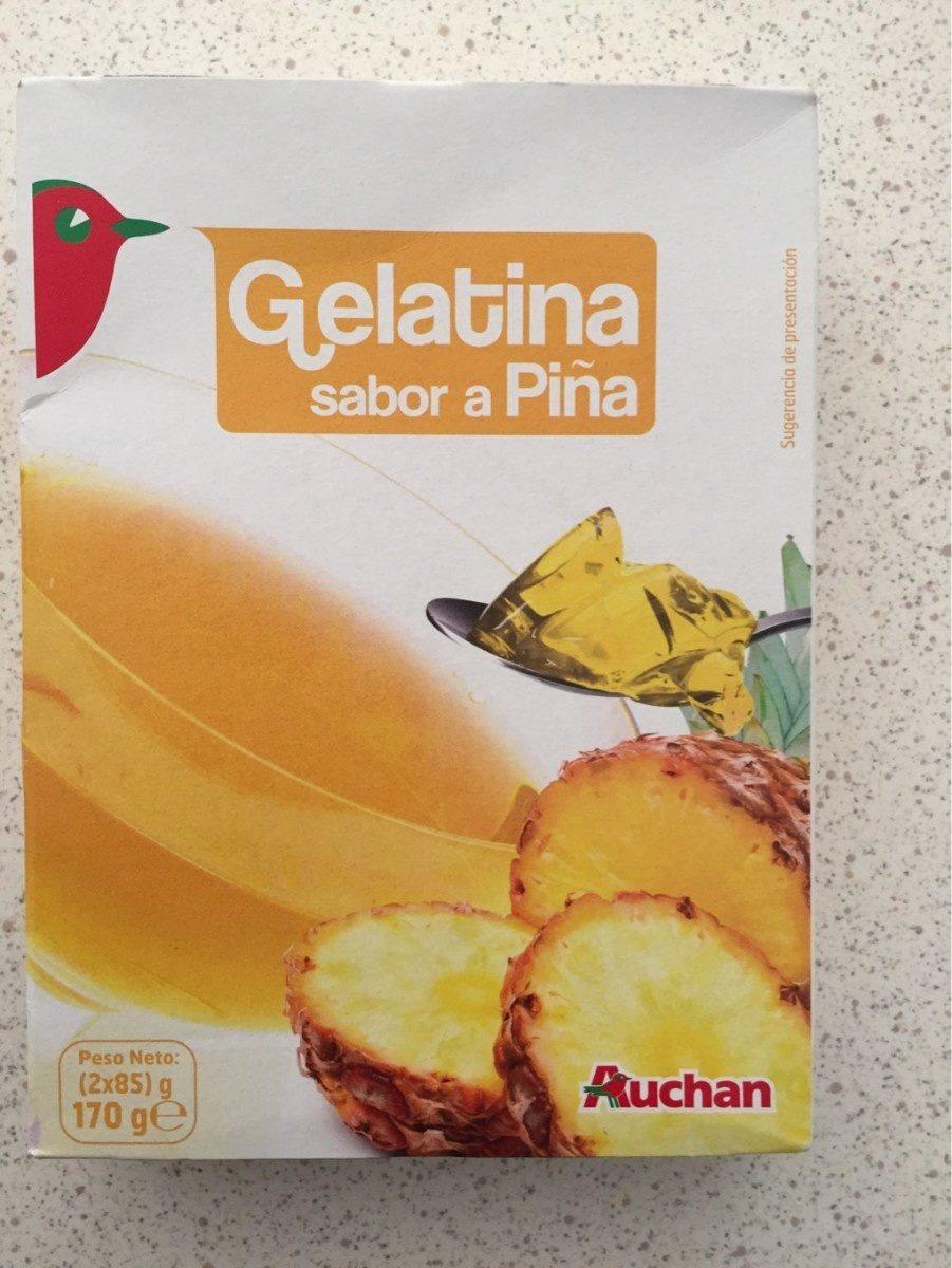 Gelatina sabor a pina - Produit - fr