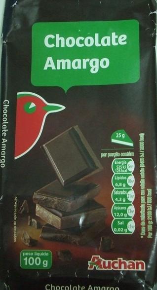 Chocolate Amargo - Produto - pt