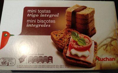 Mini Biscotes Integrales - Producte - es