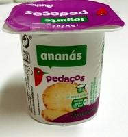 Iogurte pedaços ananás Auchan - Produto