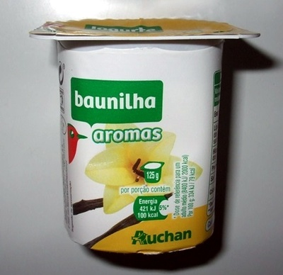 Iogurte baunilha aromas Auchan - Produto