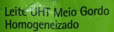 Leite Meio Gordo Polegar - Ingredientes - pt