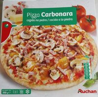 Pizza carbonara cocida a la piedrs - Producte - pt