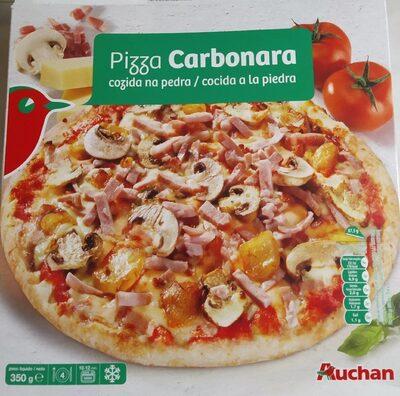 Pizza carbonara cocida a la piedrs - Produto