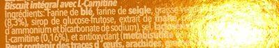 Vieira Integralis Biscuits 175 - Ingredients - fr