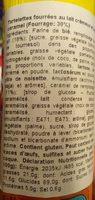 Tartelettes lait caramel - Ingredients - fr