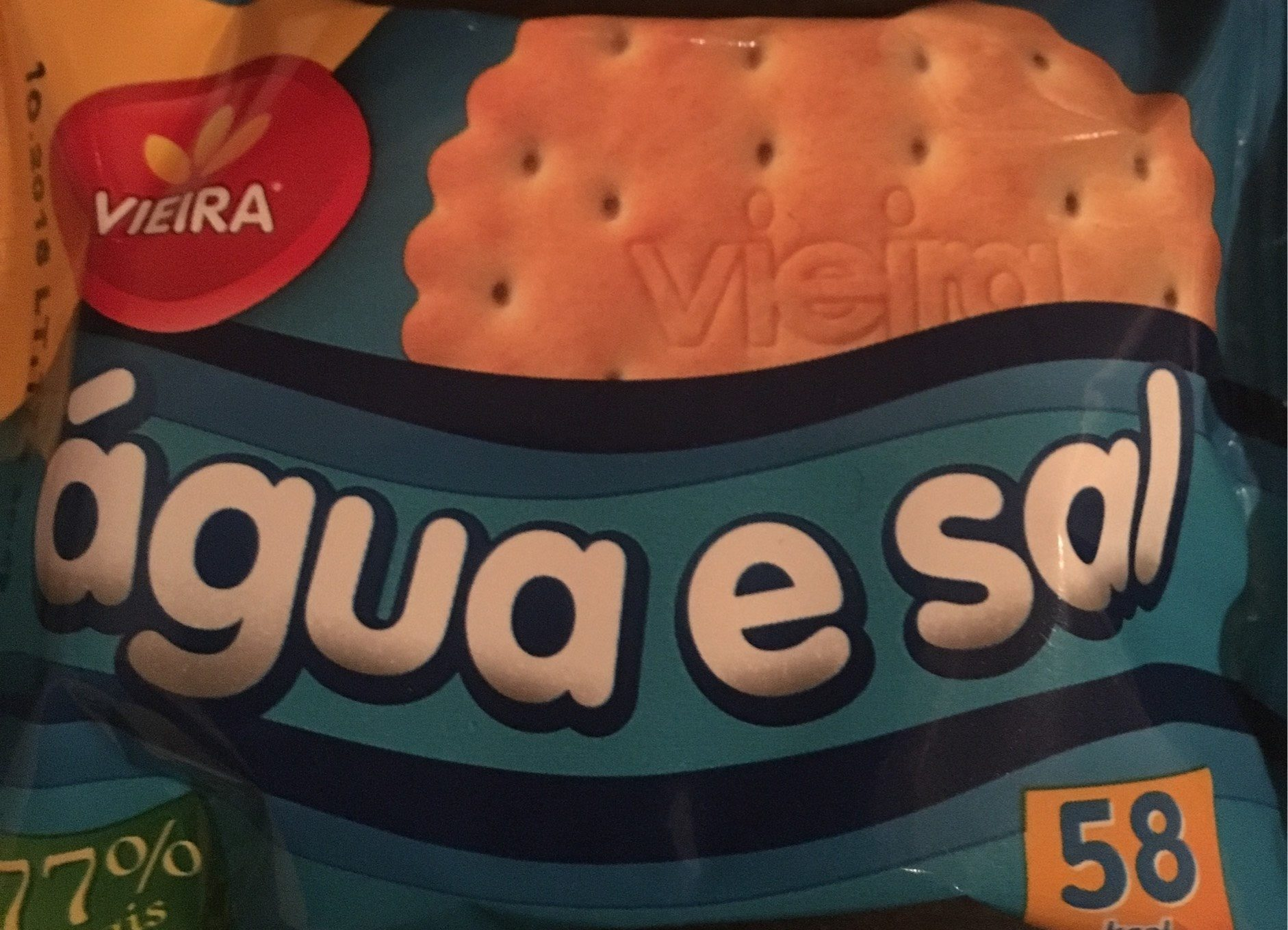 Crackers whater & salt - Produit - fr