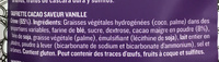 Wafers Cacau - Ingredients - fr
