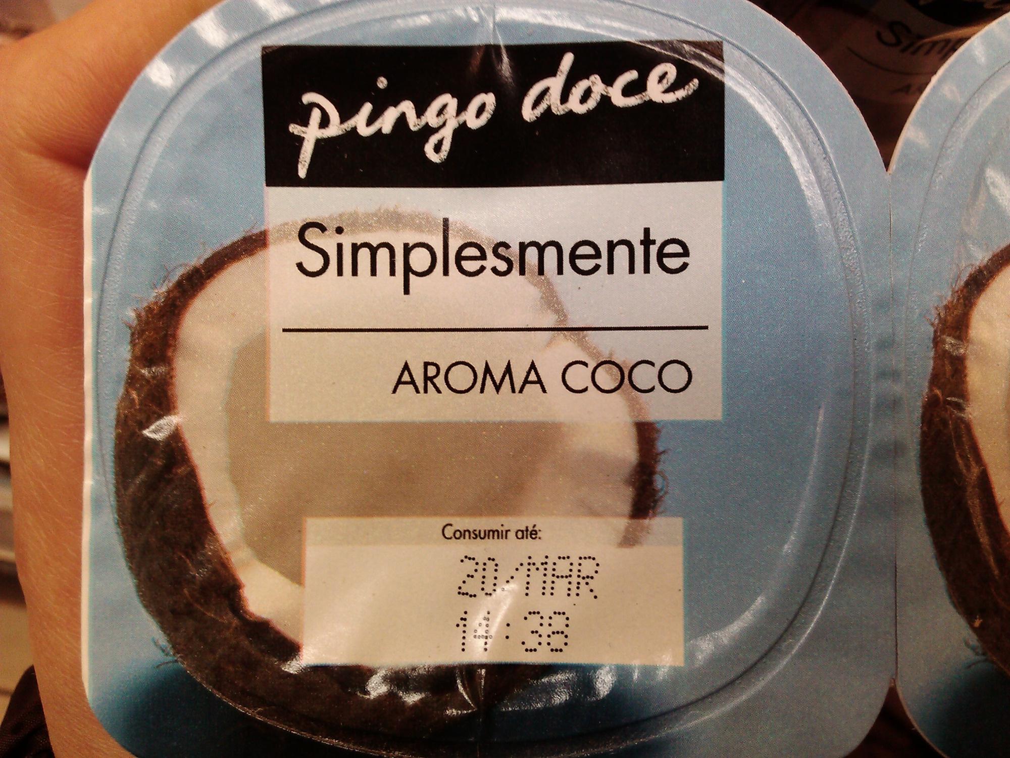 Pingo Doce Simplesmente Aroma Coco - Produto - pt