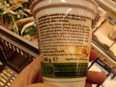 Pura Vida Soja Alperce e Pêssego - Ingredients