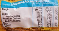 Bolacha com aveia - Nutrition facts - fr