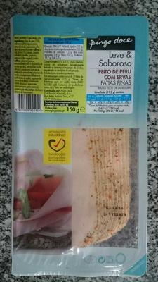 Peito de peru com ervas fatias finas - Product