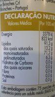 aceite virgem extra - Informations nutritionnelles - pt
