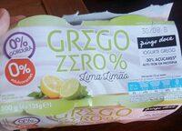 Grego Zero % Lima Limão - Product