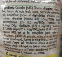 Crunchy Muesli - Ingrédients - fr