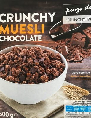 Crunchy Muesly Chocolate - Product