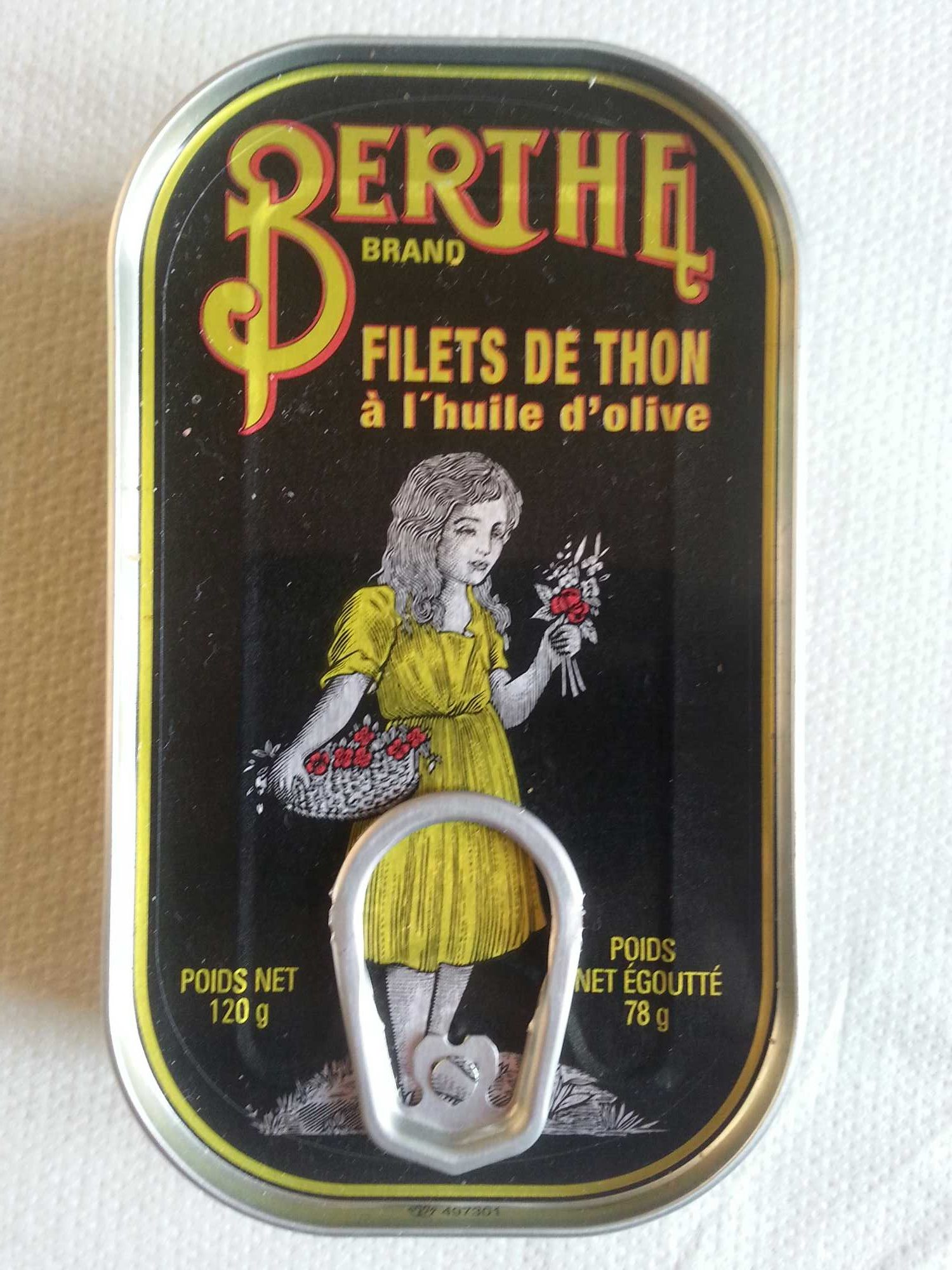 Filets de thon à l'huile d'olive - Produit - fr