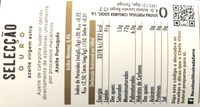 Azeiteoliveiraserrav. e. selouro75clcx12 - Ingredientes - fr