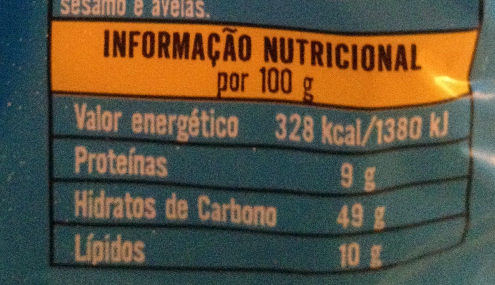 Manhãzitos Bollycao Leite - Voedingswaarden