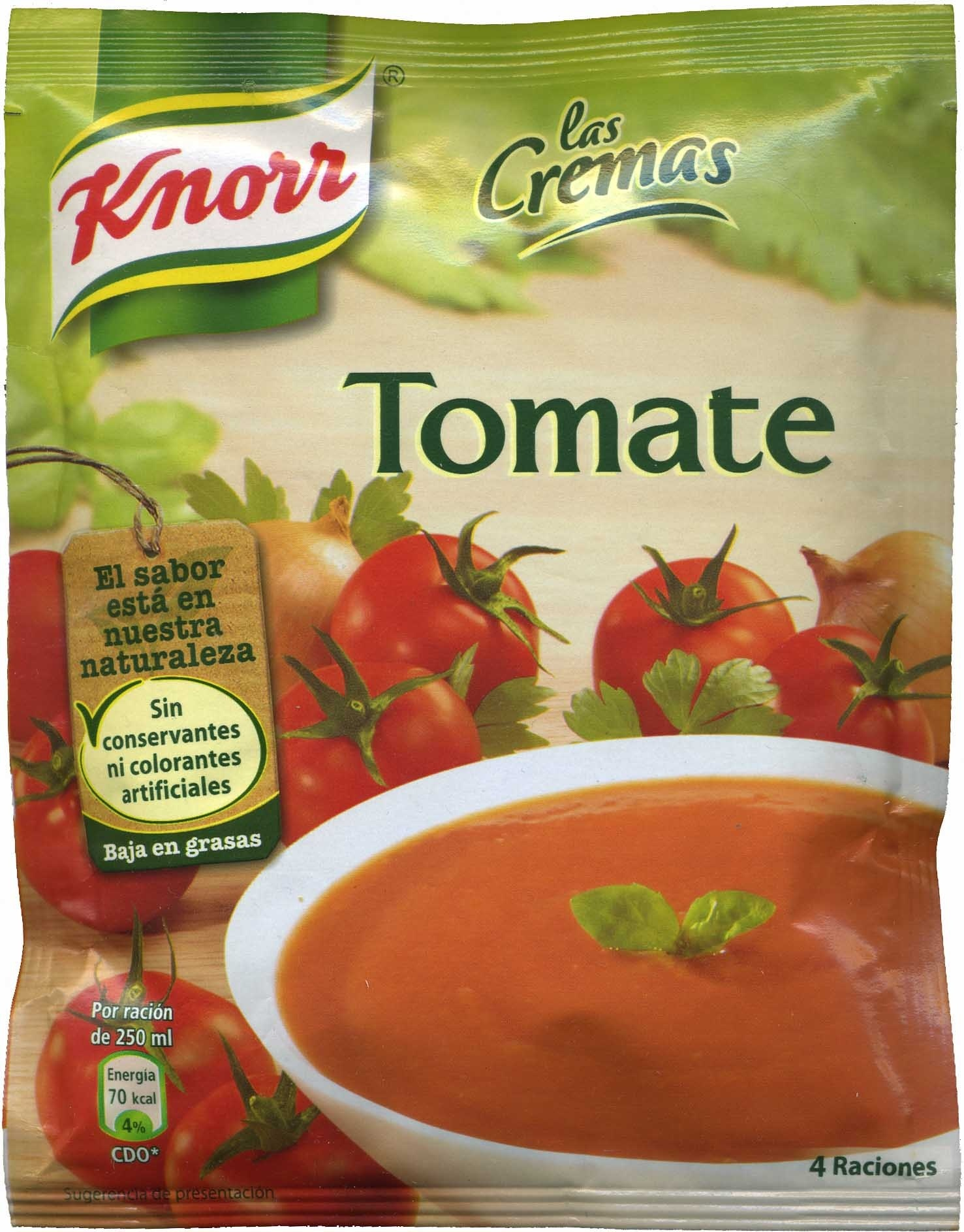 Crema Deshidratada De Tomate - Producto