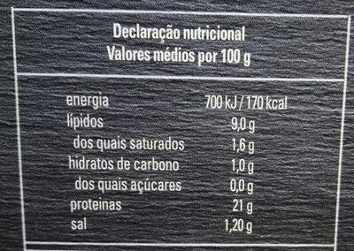 Mexilhões em escabeche - Nutrition facts