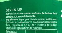 7UP - Ingrédients - fr