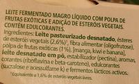 Danacol® Frutos Exóticos - Ingredients