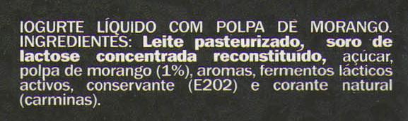 DanUp very strawberry - Ingredients - pt