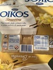Iogurte grego Oikos sensations baunilha - Produit