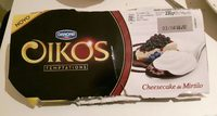 Oikos Cheesecake aux Myrtilles - Product