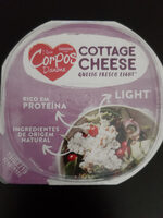 Cottage Cheese (Queijo fresco light) - Product - fr