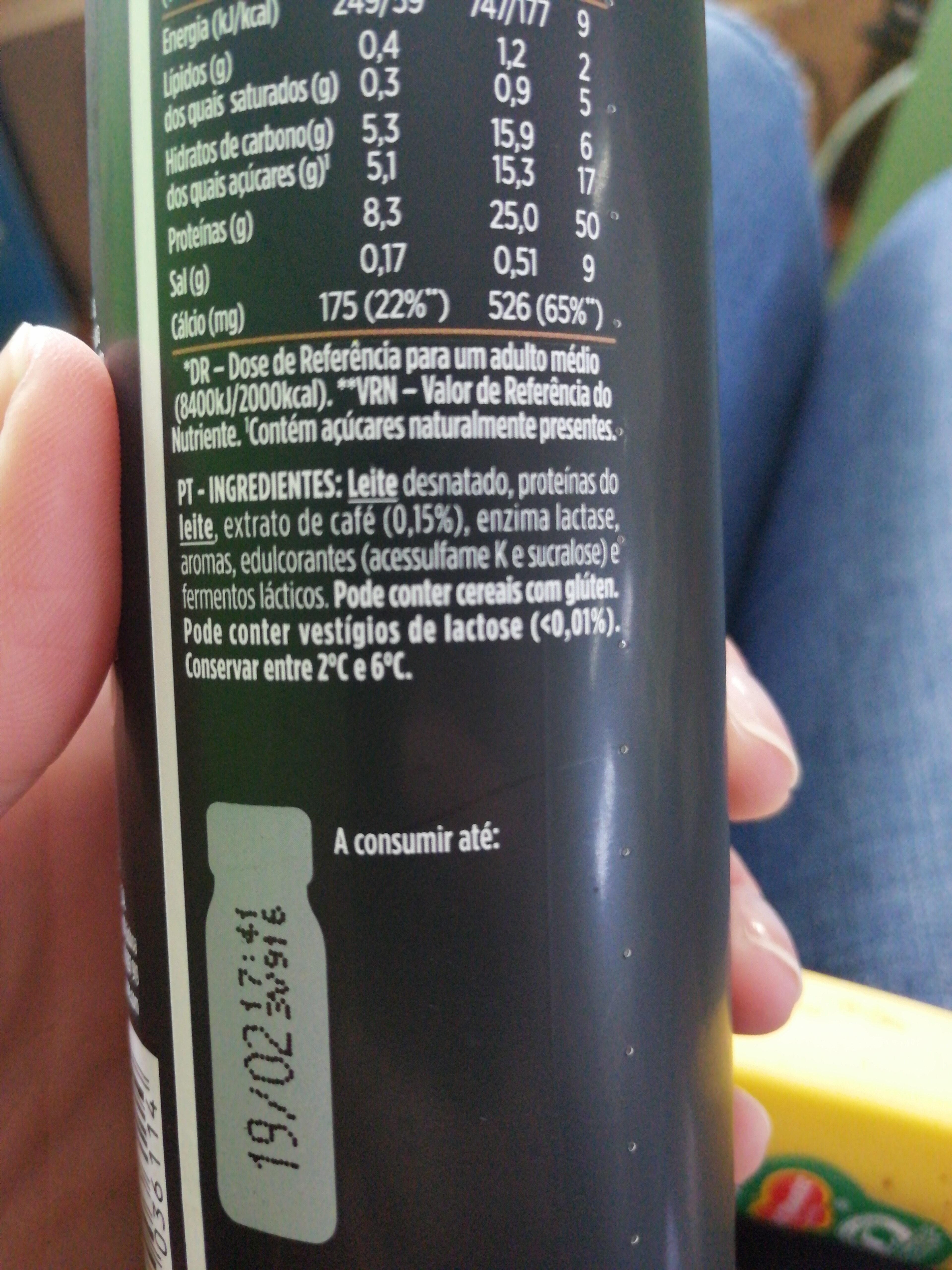 Yopro sabor Coffee Creamy - Ingrediënten