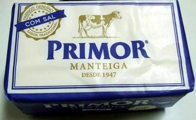 Primor Manteiga com sal - Producte