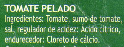 Tomate pelado - Ingredients - pt