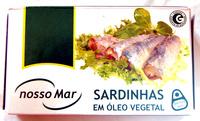Sardines à l'huile végétale - Product - fr