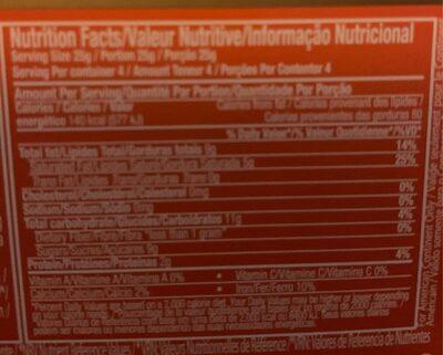 Negro con almendras - Informations nutritionnelles - es