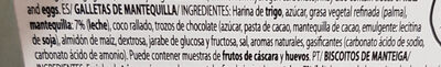 Butter Cookies Latta GR 454 - Ingredients - es