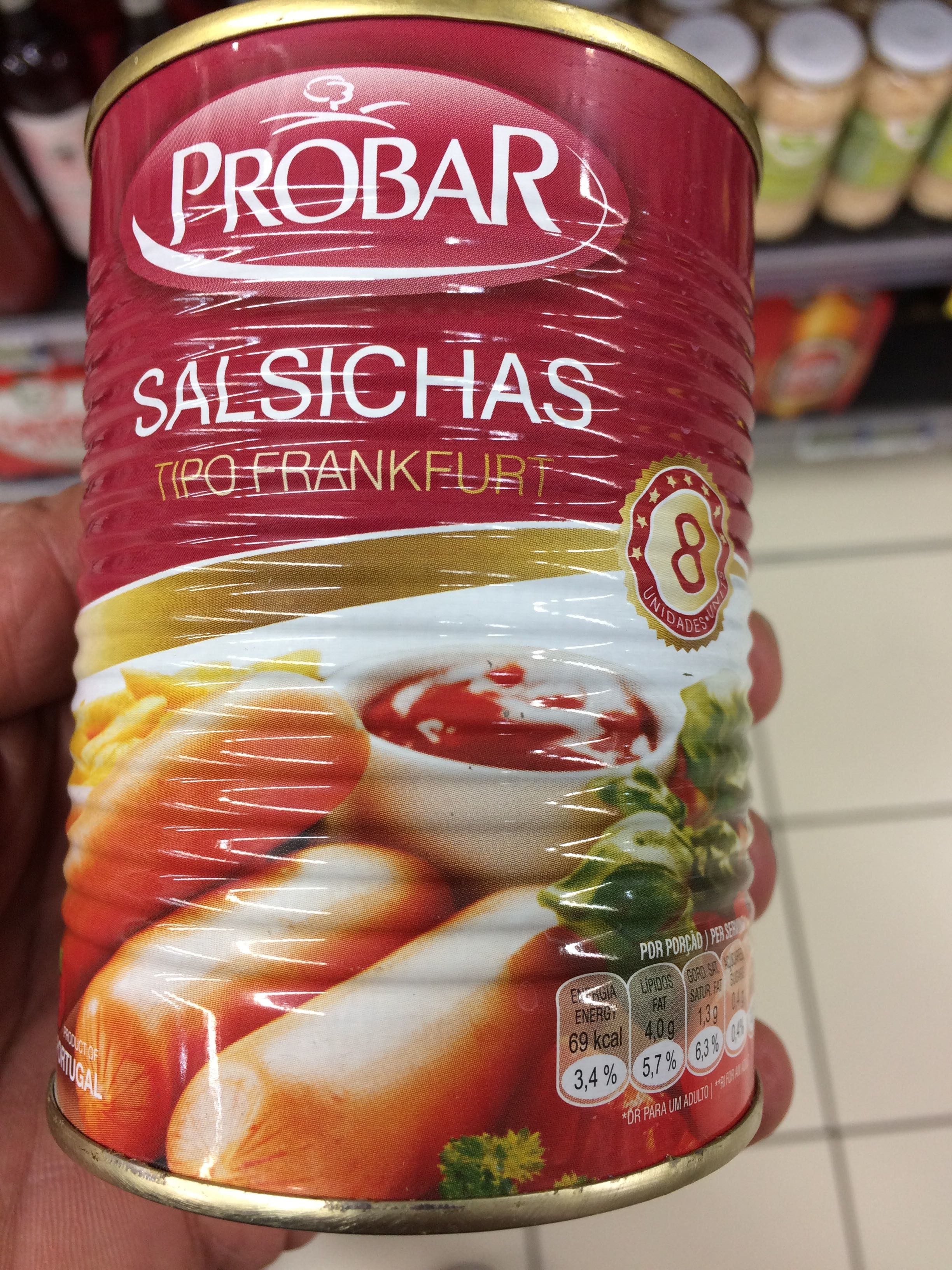 Probar Salsichas - Product