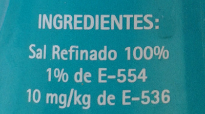 Sel de table raffiné - Ingredients - fr