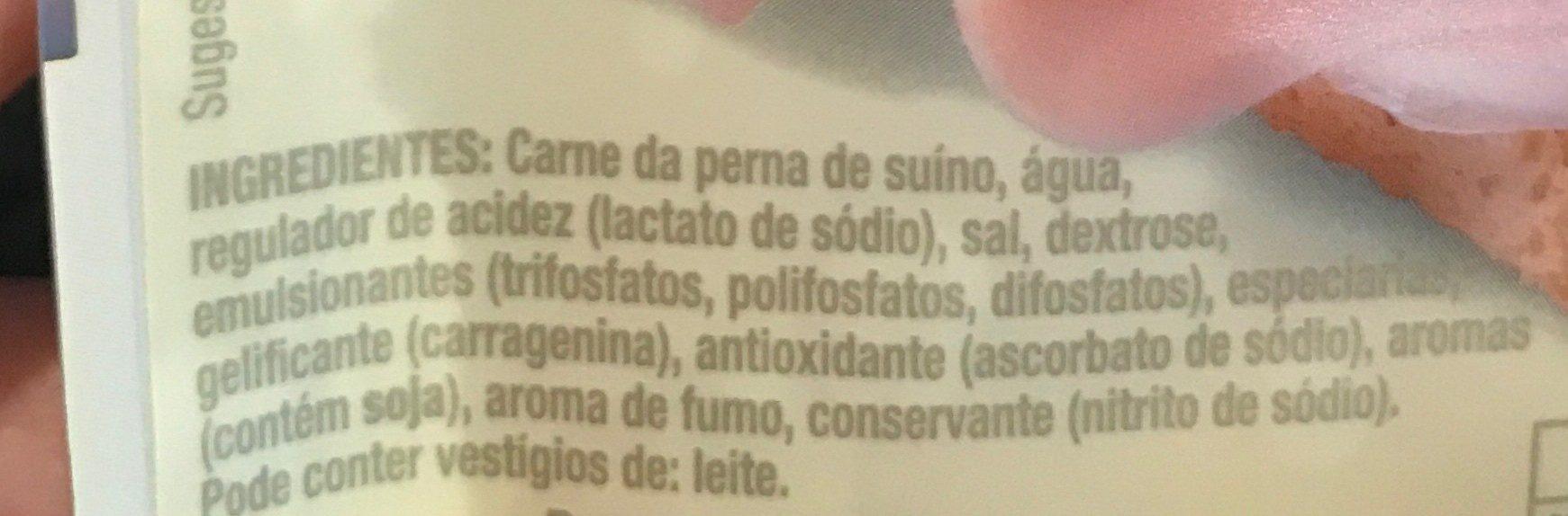 Fiambre da perna extra - Ingrediënten