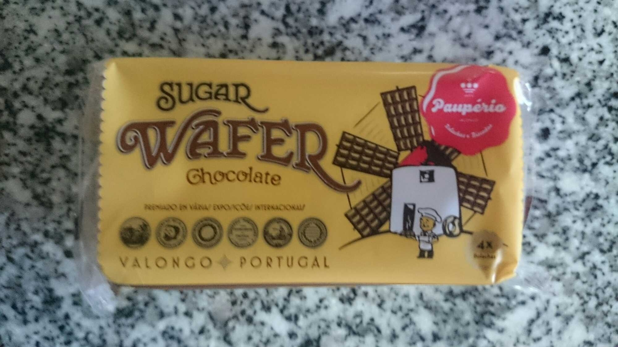 Sugar Wafer Chocolate - Product - pt