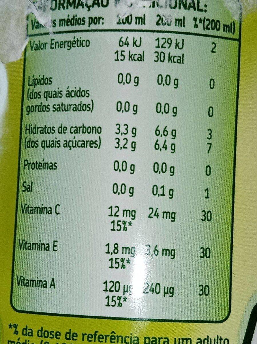 Joi - Informação nutricional - pt