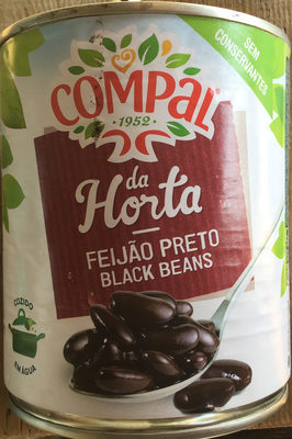 Haricots noirs cuits - Product