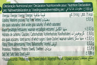 Haricots noirs cuits - Nutrition facts
