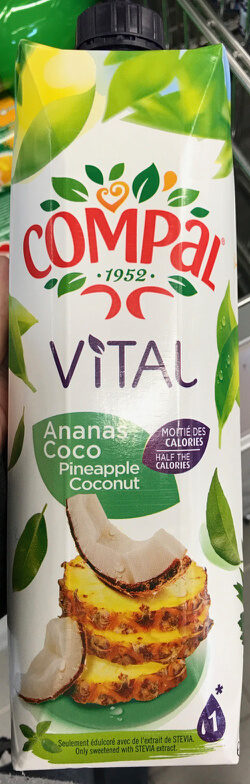 Néctar de ananás e coco - Prodotto - pt