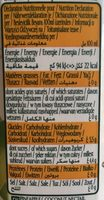 Vital Ananas Coco - Nutrition facts - fr