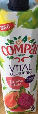 Néctar de goiabada e pitaia - Vital equilíbrio - Producte - pt